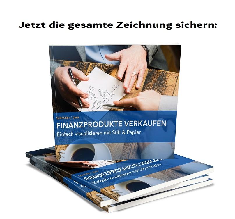 Pencil Selling Visualisierungen Finanzprodukte Verkaufen Buch